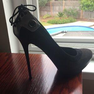 Gianmarco Lorenzi Shoes - Gianmarco Lorenzi Super Sexy Black Stilettos 